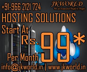 JKWORLD | +91-9662121724 | info@jkworld.in | www.jkworld.in