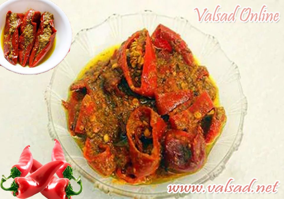 how-to-make-easy-way-red-chili-pickle-recipe-Valsad-ValsadOnline