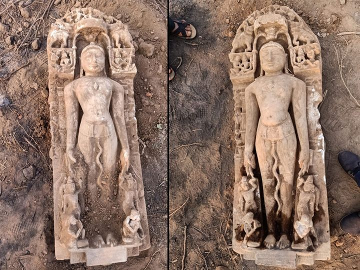 in-the-lamp-of-danta-2-jain-idols-of-822-years-old-four-and-a-half-feet-were-found-Valsad-ValsadOnline
